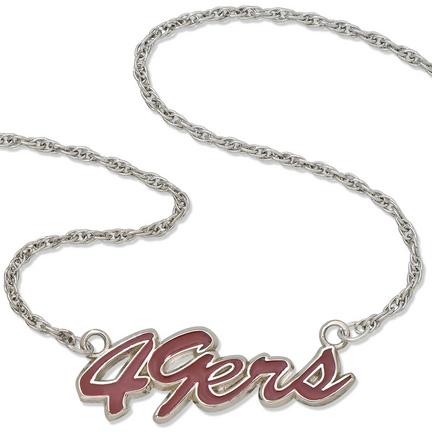 49ers necklace san francisco 49ers necklace 49ers