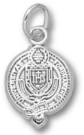 Fordham Rams Seal 1/2 Charm Sterling Silver Jewelry