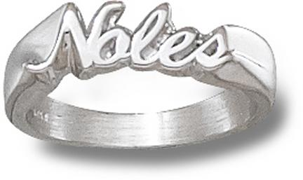 Florida State Seminoles Noles Ladies Ring Size 8 Sterling Silver Jewelry