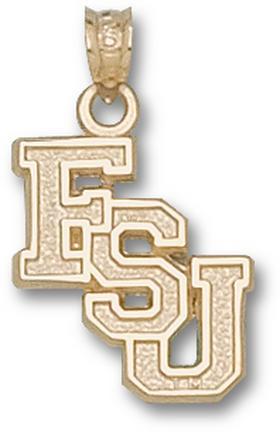 """Florida State Seminoles """"FSU"""" Cascaded Lapel Pin - 14KT Gold Jewelry"""