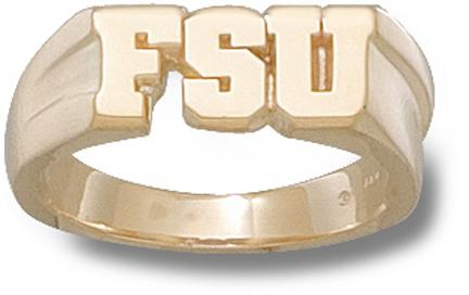 Florida State Seminoles FSU 516 Mens Ring Size 11  14KT Gold Jewelry