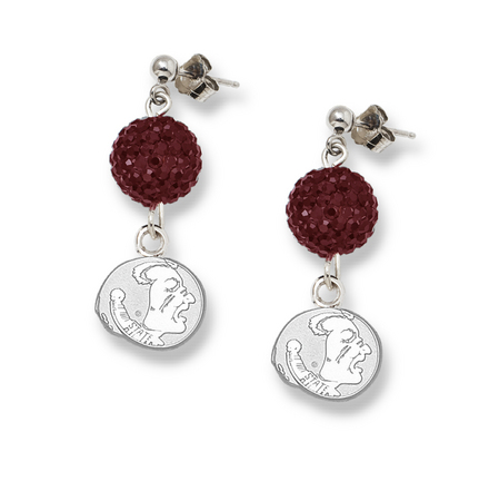 Florida State Seminoles Ovation Crystal Earrings