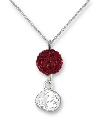 Florida State Seminoles Ovation Crystal Necklace