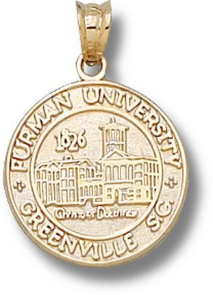 """Furman Paladins New """"Seal"""" Lapel Pin - 10KT Gold Jewelry"""