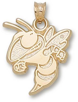 "Georgia Tech Yellow Jackets ""Buzz"" 11/16"" Lapel Pin - 14KT Gold Jewelry"