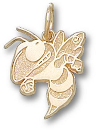 "Georgia Tech Yellow Jackets ""Buzz"" Lapel Pin - 14KT Gold Jewelry"