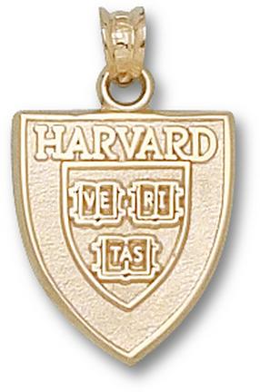 """Harvard Crimson """"Shield"""" Lapel Pin - 14KT Gold Jewelry"""