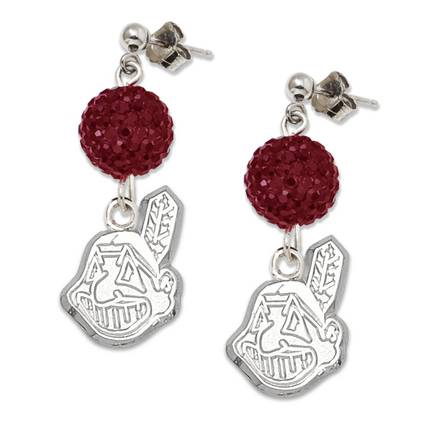 Cleveland Indians Ovation Crystal Earrings