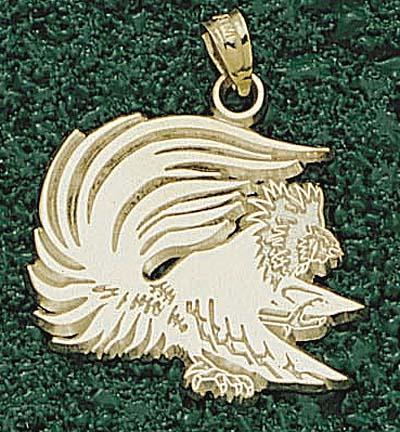 Jacksonville State Gamecocks Gamecock 34 Pendant  14KT Gold Jewelry