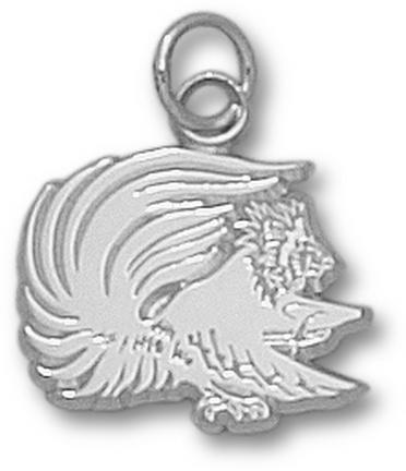 Jacksonville State Gamecocks Gamecock 12 Charm  Sterling Silver Jewelry