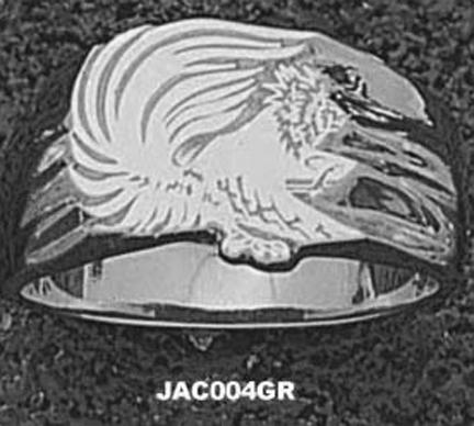 Jacksonville State Gamecocks Mens Ring Size 10 12  Sterling Silver Jewelry
