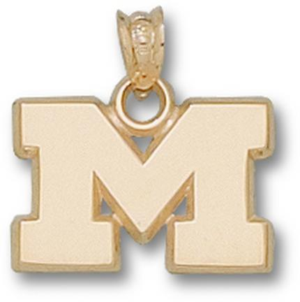 "Marshall Thundering Herd ""M"" 1/2"" Lapel Pin - Sterling Silver Jewelry"