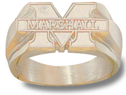 Marshall Thundering Herd M Marshall Mens Ring Size 10 12  14KT Gold Jewelry