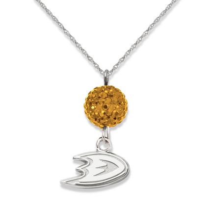 Anaheim Ducks Ovation Crystal Necklace