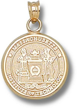 """Massachusetts Institute of Technology """"Seal"""" Lapel Pin - Sterling Silver Jewelry"""