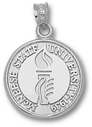 Mcneese State Cowboys Seal Pendant Sterling Silver Jewelry