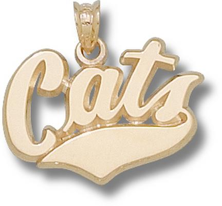 """Montana State Bobcats """"Cats"""" Lapel Pin - Sterling Silver Jewelry"""