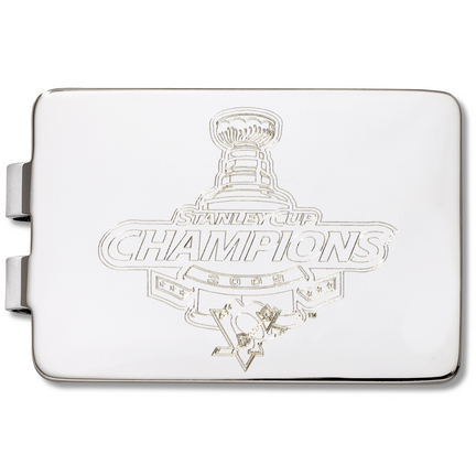 Pittsburgh Penguins 2009 Stanley Cup Engraved Money Clip LGA-NHL2009-MC