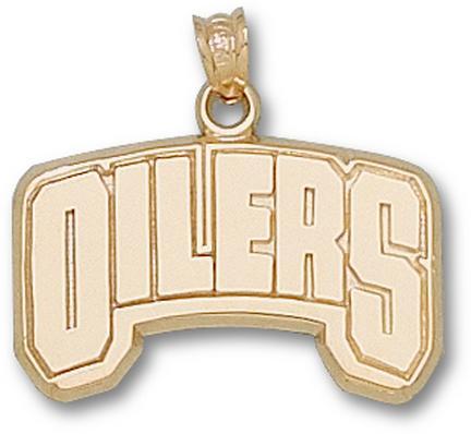 Edmonton Oilers Oilers Pendant - 14KT Gold Jewelry