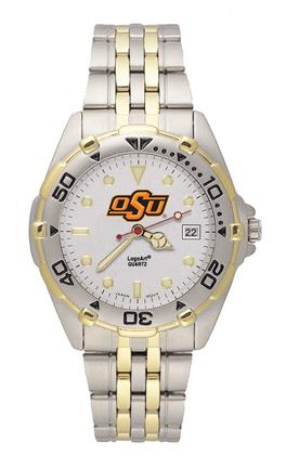 "Oklahoma State Cowboys ""oSu"" All Star Watch with Stainless Steel Band - Men's"