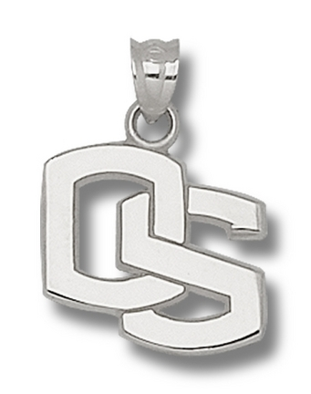 Oregon State Beavers 5/8 Os Pendant Sterling Silver Jewelry