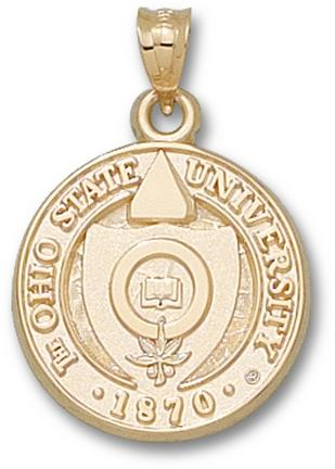 """Ohio State Buckeyes """"Seal"""" Lapel Pin - 10KT Gold Jewelry"""