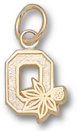 "Ohio State Buckeyes Block ""O"" Lapel Pin - 14KT Gold Jewelry"