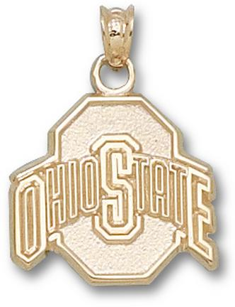 "Ohio State Buckeyes Athletic Block ""O"" Lapel Pin - 14KT Gold Jewelry"