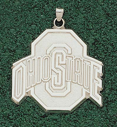 "Ohio State Buckeyes Athletic Block ""O"" Giant Lapel Pin - Sterling Silver Jewelry"