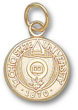 """Ohio State Buckeyes """"Seal"""" 1/2"""" Lapel Pin - 10KT Gold Jewelry"""