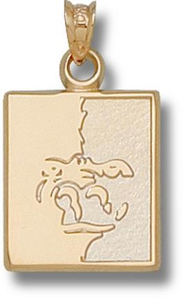 "Pittsburg State Gorillas ""Gorilla"" Lapel Pin - 10KT Gold Jewelry"