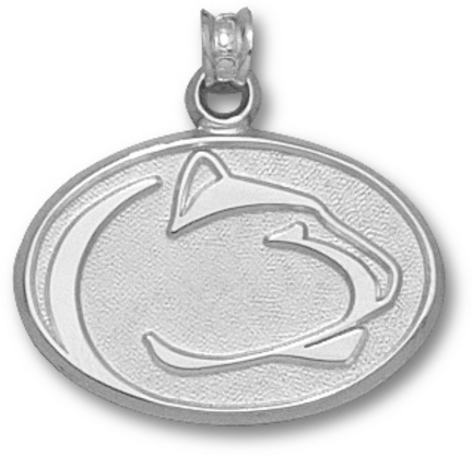 Penn State Nittany Lions Lion Head Pendant Sterling Silver Jewelry