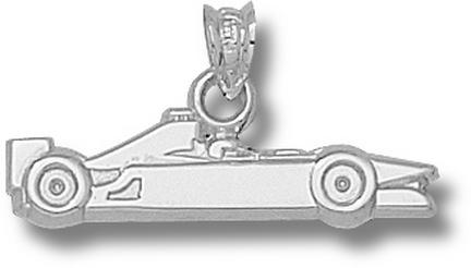 Car Silhouette Pendant Sterling Silver Jewelry