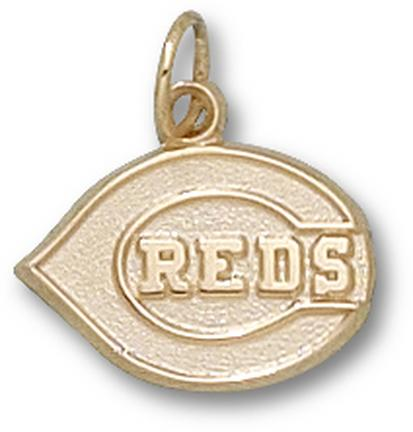 "Cincinnati Reds ""C Reds"" Logo 1/2"" Lapel Pin - Sterling Silver Jewelry"