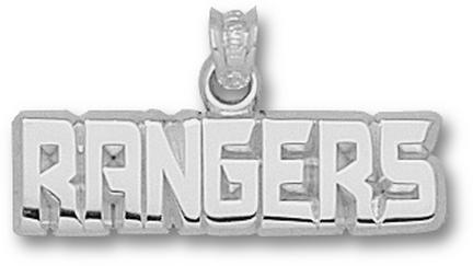 New York Rangers Rangers 1/4 Pendant Sterling Silver Jewelry