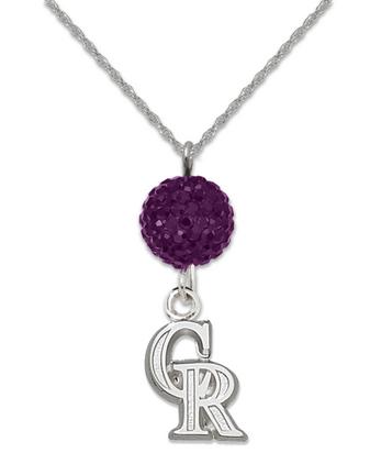 Colorado Rockies Ovation Crystal Necklace