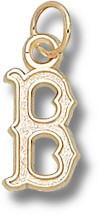 "Boston Red Sox ""B"" 1/2"" Lapel Pin - Sterling Silver Jewelry"