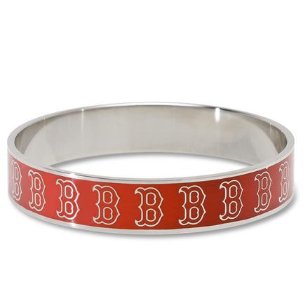 Boston Red Sox Enamel Stainless Steel Bracelet