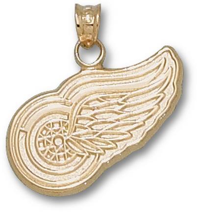 """Detroit Red Wings Logo 5/8"""" Lapel Pin - Sterling Silver Jewelry"""