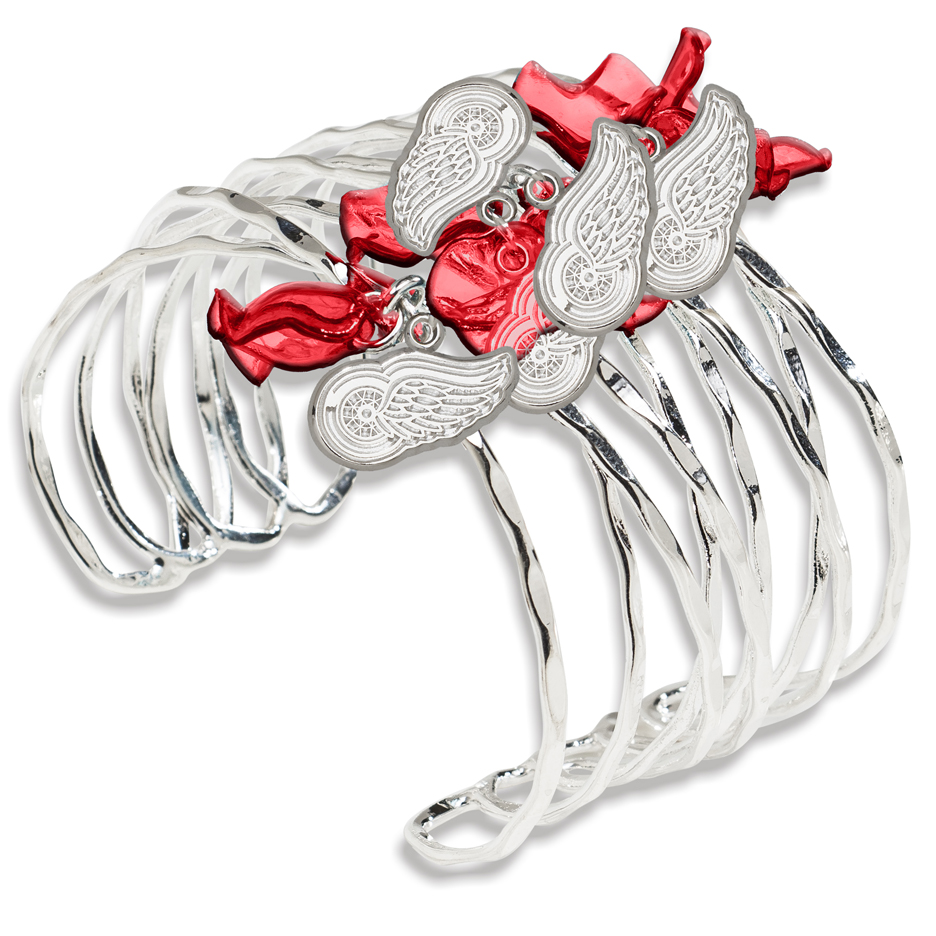 Detroit Red Wings Celebration Cuff Bracelet
