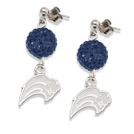 Buffalo Sabres Ovation Crystal Earrings