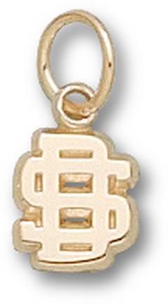South Dakota State Jackrabbits SD 1/4 Charm - 14KT Gold Jewelry
