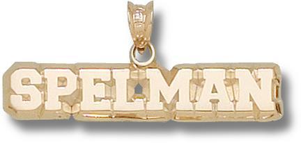 "Spelman Jaguars ""Spelman"" Lapel Pin - 10KT Gold Jewelry"