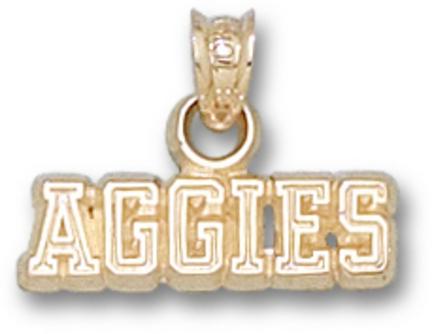 "Texas A & M Aggies """"Aggies"""" Pendant - Gold Plated Jewelry"" LGA-TAM002-GP"