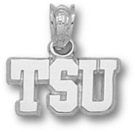 Tarleton State Texans Tsu 1/4 Pendant Sterling Silver Jewelry