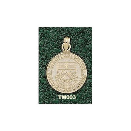 """Thomas More Blue Rebels """"Seal"""" Lapel Pin - 10KT Gold Jewelry"""