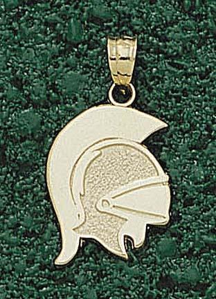 Troy State Trojans Trojan Mask Pendant - 14KT Gold Jewelry