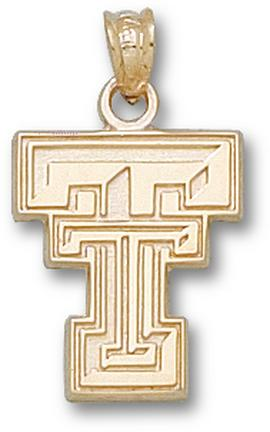 "Texas Tech Red Raiders New ""TT"" Lapel Pin - Sterling Silver Jewelry"