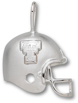 Texas Tech Red Raiders New Tt Football Helmet Pendant Sterling Silver Jewelry