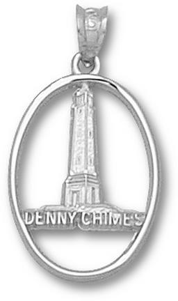 Alabama Crimson Tide Denney Chimes Pendant Sterling Silver Jewelry